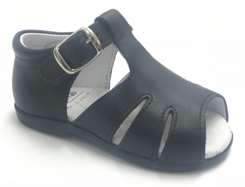 00215-E Boys Navy Sandal
